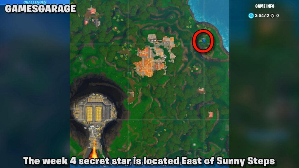 week 4 secret star map location