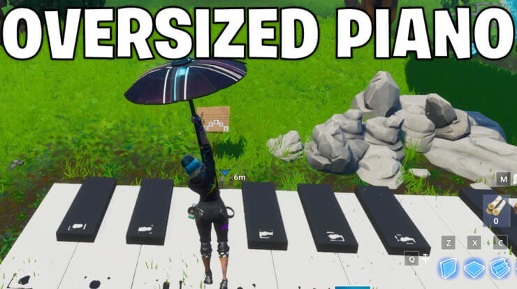 Visit An Oversized Piano
