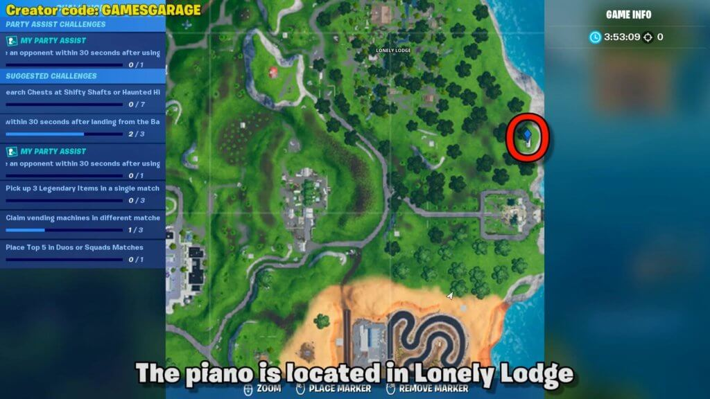 Visit An Oversized Piano - map location