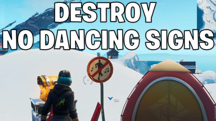 destroy no dancing signs