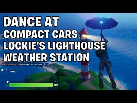 Dance at Compact Cars, Lockie's Lighthouse, and a Weather Station