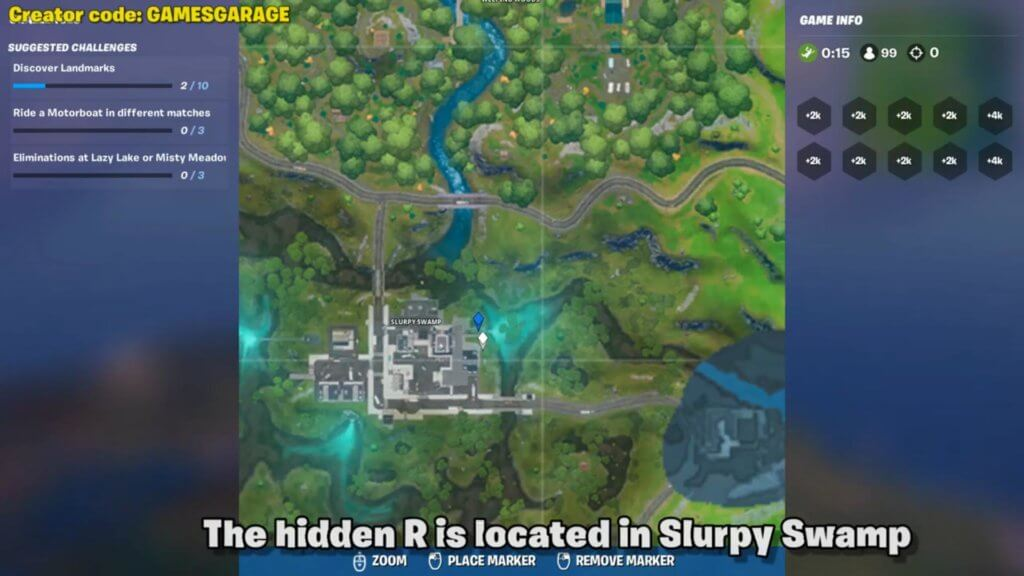 Fortnite Chapter 2 Search Hidden F Found In The New World