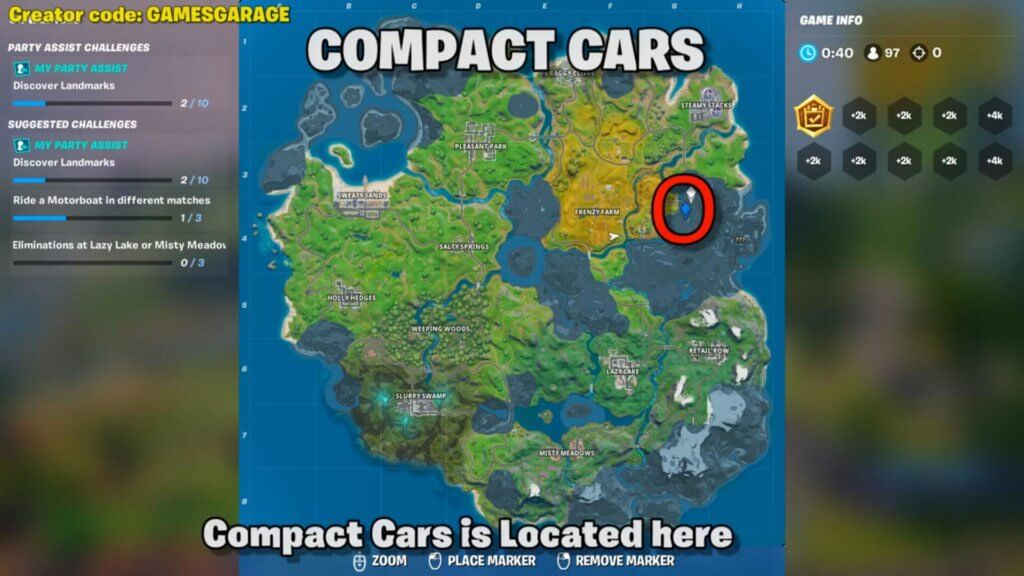 fortnite dance at compact cars